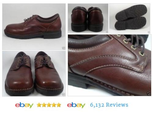 BASS Mens Shoes Leather Size 12 MW Brown #Oxford Lace Up #BAS #Casual #etsy #PromoteEbay #PictureVideo @SharePicVideo