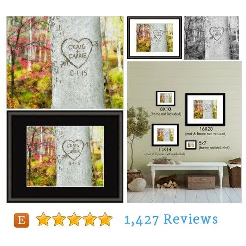 Personalized Carved Heart Tree, Couples #etsy @picturepersonal  #etsy #PromoteEtsy #PictureVideo @SharePicVideo