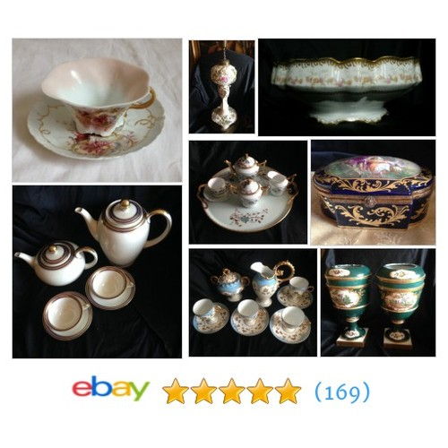 porcelain Items in Beautiful European Antiques store #ebay @antiqueitems  #ebay #PromoteEbay #PictureVideo @SharePicVideo