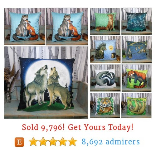 Cushions Etsy shop #etsy @lyndseythefox  #etsy #PromoteEtsy #PictureVideo @SharePicVideo